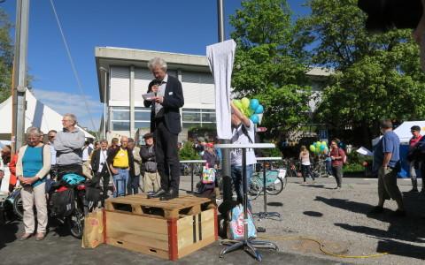 Eröffnungsrede mit Adrian Borgula, Stadtrat und Direktor Umwelt, Verkehr und Sicherheit