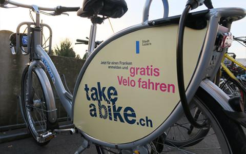 Gratis Leihvelos für Luzern