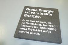 Sonderschau Graue Energie