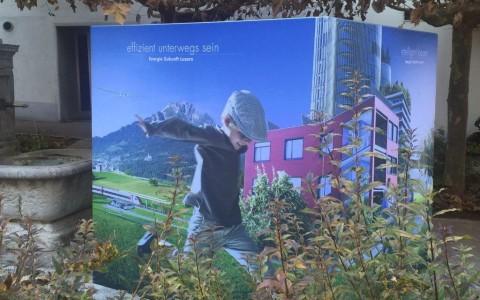 Energie Zukunft Luzern: effizient unterwegs sein