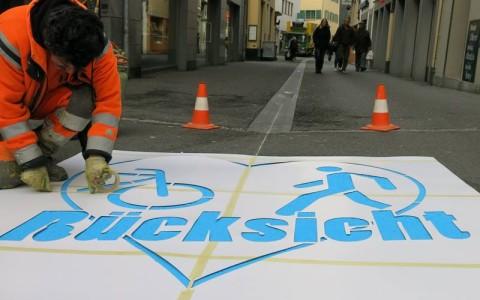 Velokampagne Stadt Luzern