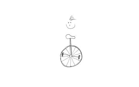 Zeichne ein Velo Nr. 0005